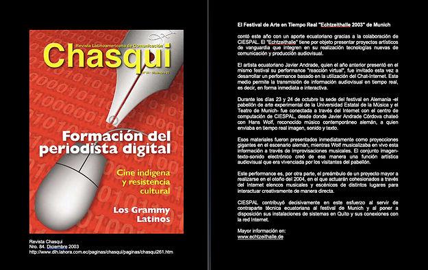 Revista Chasqui/Ciespal