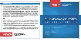 """Ciudadanas celestes"" - Programa"