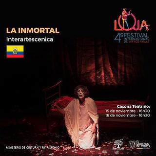 Afiche La inmortal Loja