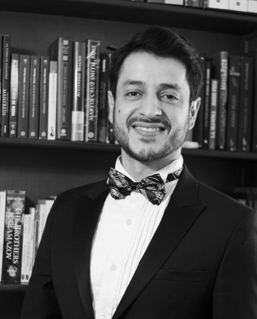 David Garzón, barítono (Cracio, sanitario 2)