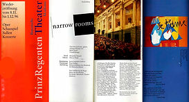 """Narrow Rooms"" - programa"