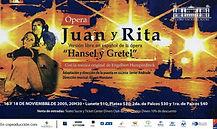 """""""Juan y Rita"""" Afiche"""