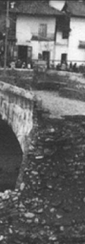 Puente del Vado destruido.