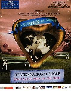 Poster Ensueños de amor