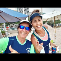Claudia Paiva e Amanda Campos