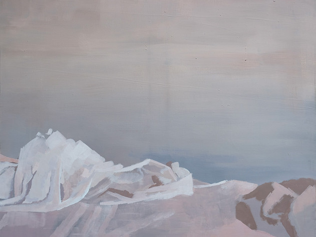 Left side of bed (Painting) 3 2014