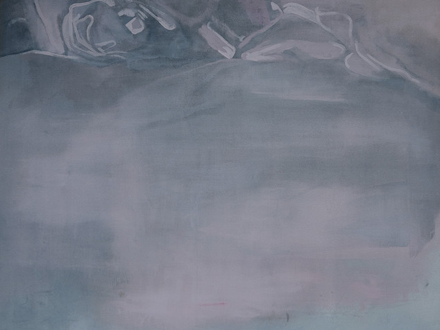 Left side of bed (Painting) 1 2014