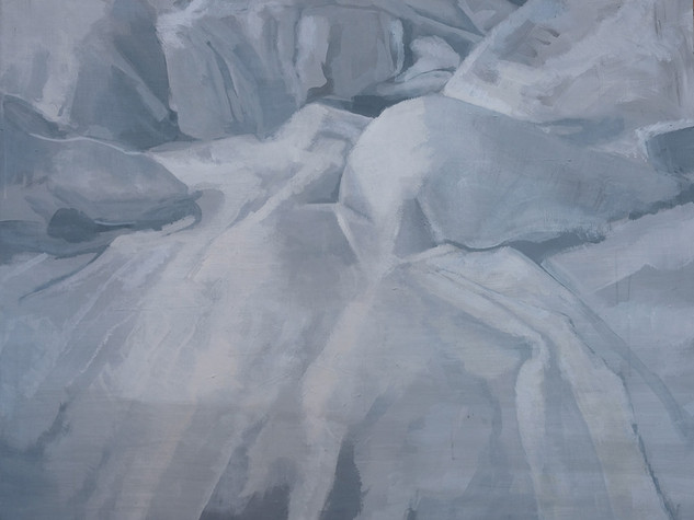 Left side of bed (Painting) 2  2014