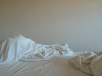 Left side of bed (Temporary Dwelling) 20132012