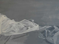 Left side of bed (Painting) 1 2013