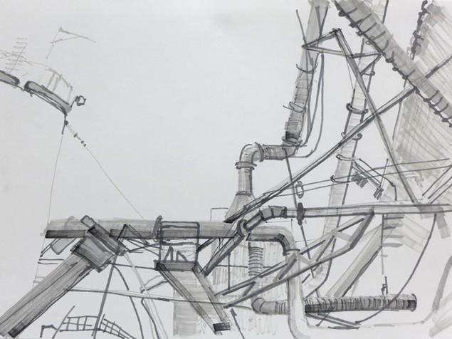 saga drawing (the factory) 3 2015