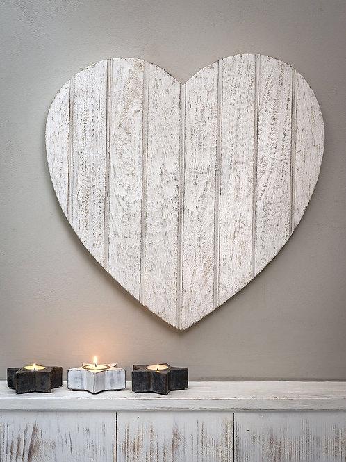Panel heart wall decoration