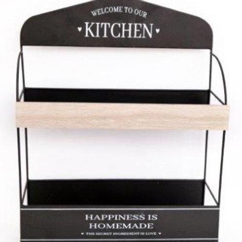 Wooden Kitchen Storage Unit