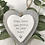 Thumbnail: *SALE* Grey and White Hanging Heart