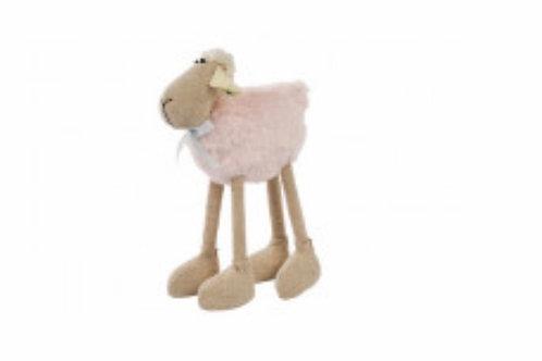 Pink standing sheep