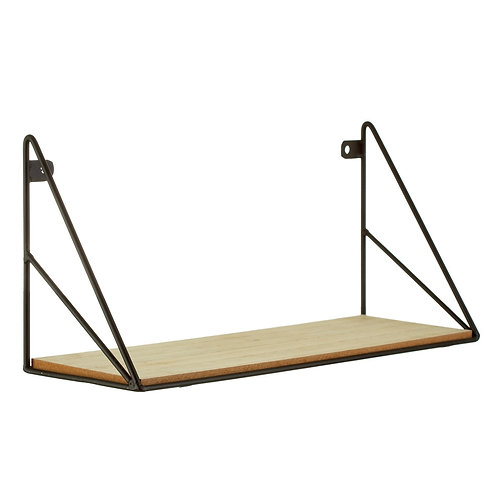 Wood and Wire Shelf