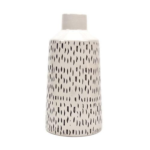 Dashes Ceramic Vase