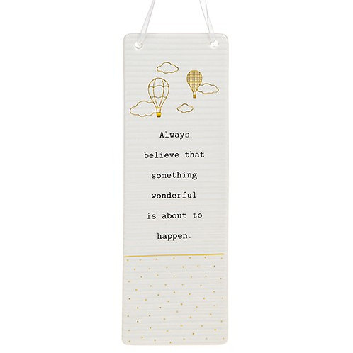*SALE* Thoughtful Words Hanging Plaque