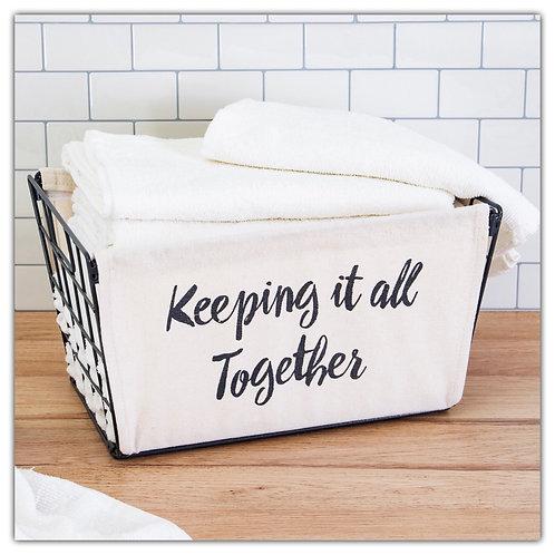 Keeping it Together basket