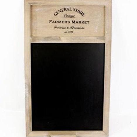 Farmers Market Blackboard
