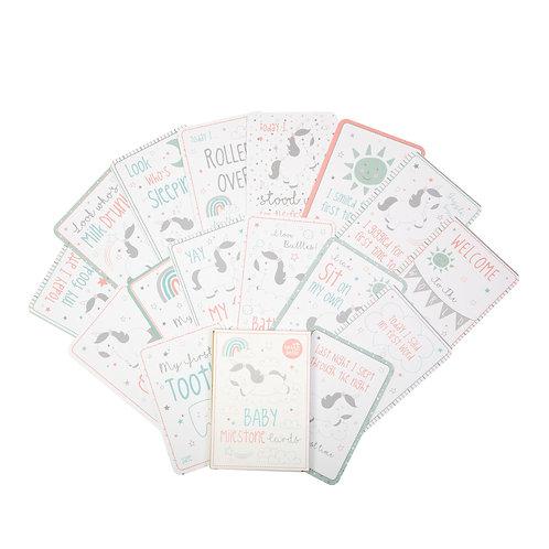 Baby Milestone Cards - set of 16