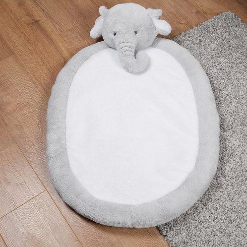 Soft Oval Elephant playmat