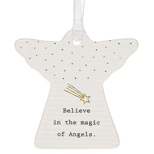 Ceramic Hanging Angel