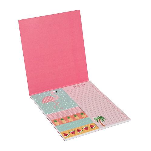 Mini Flamingo Sticky Notes