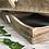 Thumbnail: Set of 2 mango wood square trays