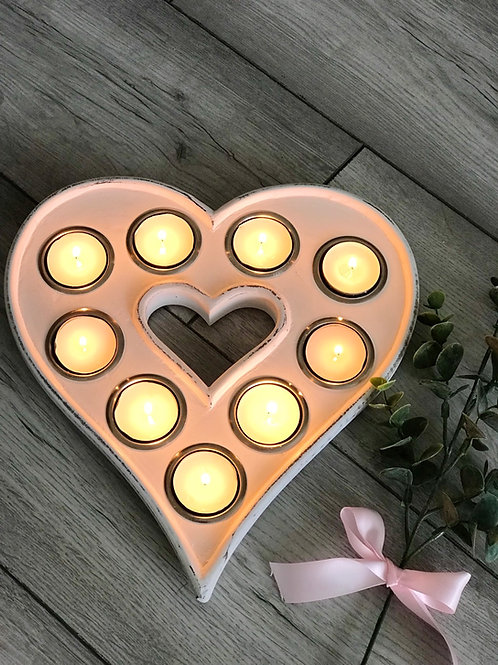 Heart shaped Tealight Holder