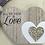 Thumbnail: Double wooden heart blocks