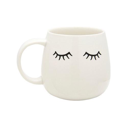 Cute Eyes Shut Mug