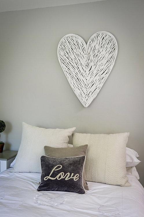 Large Wicker Hearts