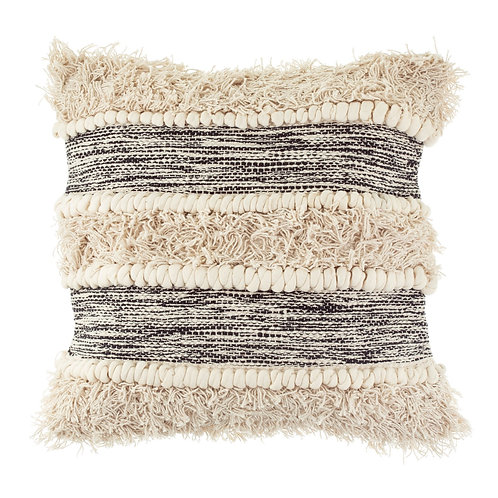 Scandi Boho Tufted Stripe cushion