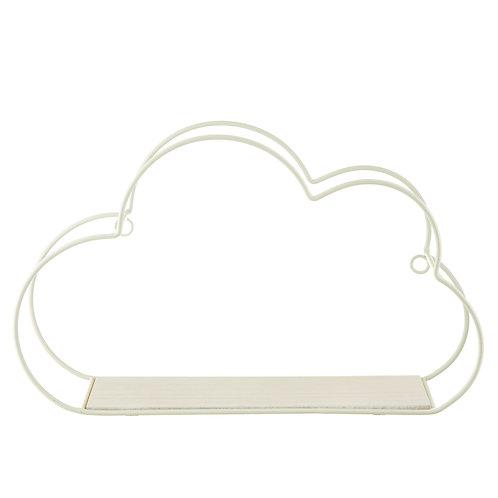 Cloud Shaped Wire Shelf