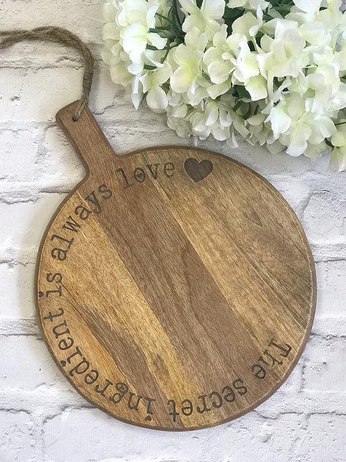 Large Secret Ingredient Board