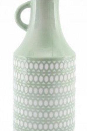 Circular Green Vase 29cm