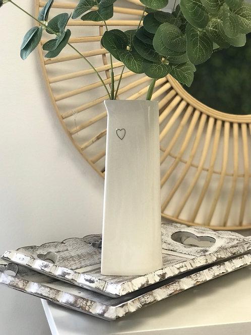 Simple Heart Vase