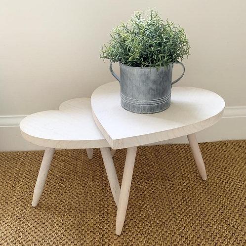 Cute whitewash table - 2 sizes