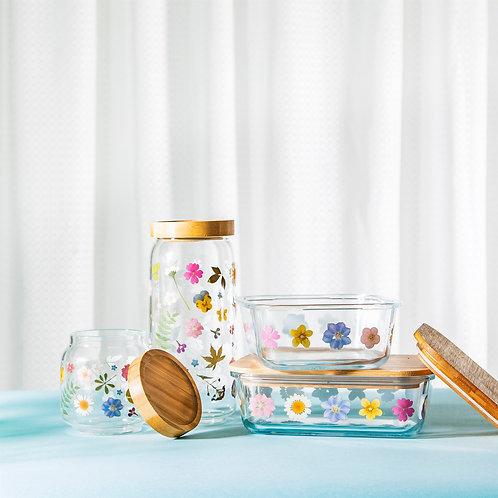 Pretty Glass Storage Containers