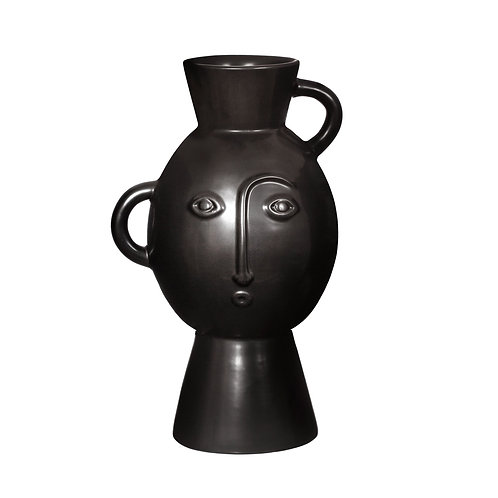 Amira Face Vase with handles