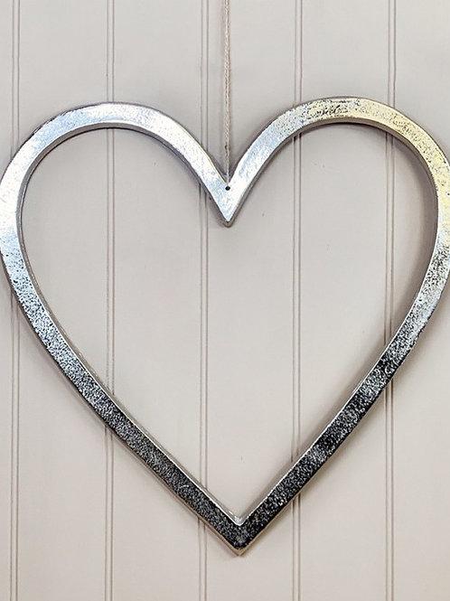Aluminium Hanging Heart