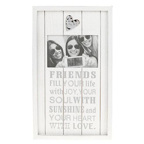*SALE*  Phrases Wooden Photo Frame 37x22cm