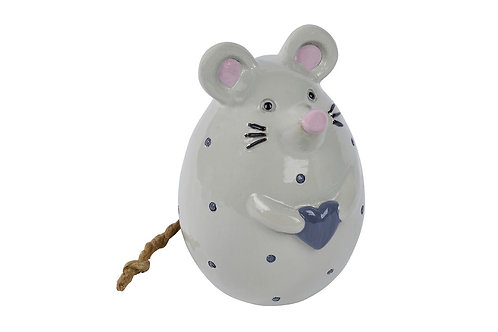 Cute mouse ornament