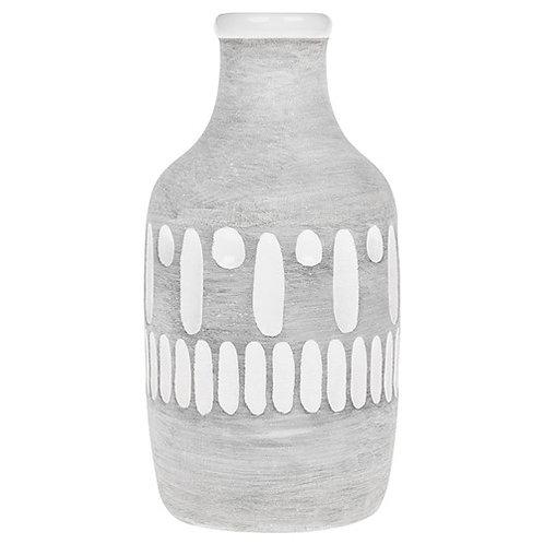 *SALE* Inca Grey Small Bottle Vase