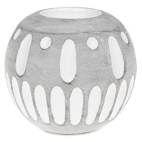 *SALE* Inca Grey Tealight holder