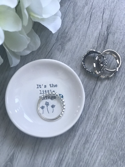 Ring Tray - It's the Little Things