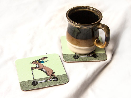 Scootering Hare Coaster