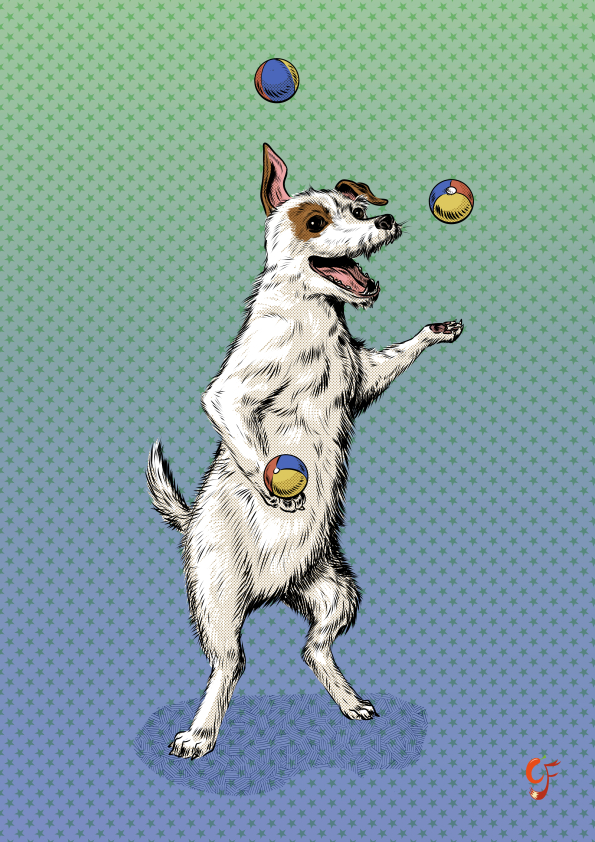 Terrier Juggler