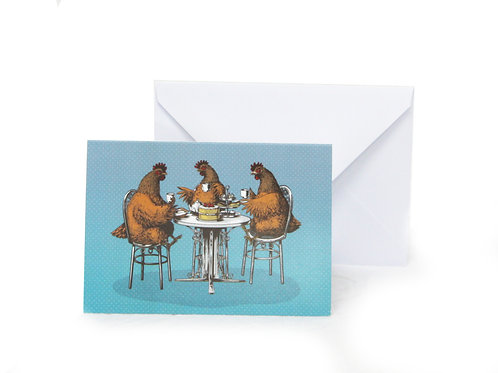 Hen Party Greetings Card